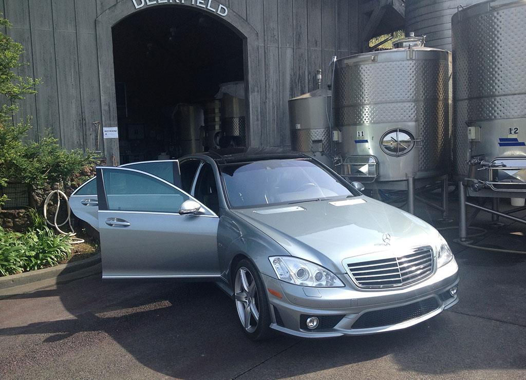 Mercedes benz s63 silver service exclusive sonoma napa for A service mercedes benz
