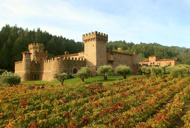 Napa Wine Tours Castle