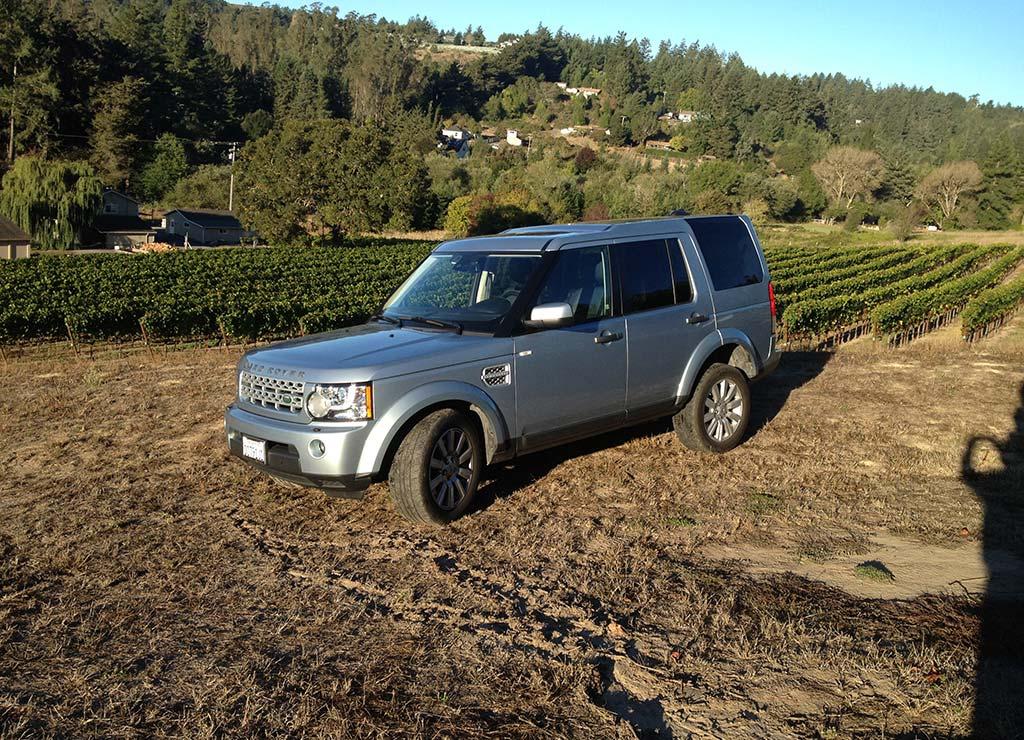 Land Rover Lr4 Silver Service Exclusive Sonoma Amp Napa